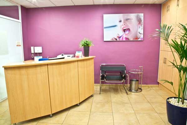Recepción de Dental Carpe