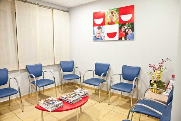 Sala de espera de Dental Carpe